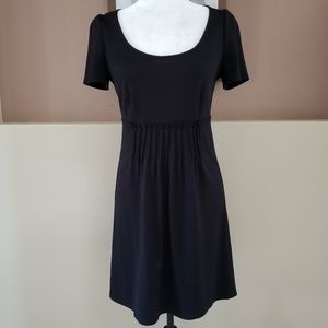 Ella Moss Pleated Black Dress